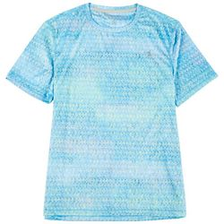 Reel Legends Mens Reel-Tec Rainbow Tarpon T-Shirt