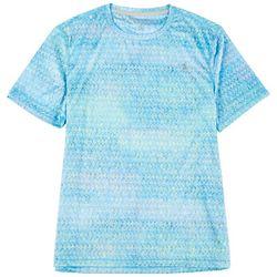 Reel Legends Mens Reel-Tec Rainbow Tarpon T-Shirt