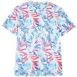 Reel Legends Mens Reel-Tec Splat Palms Short Sleeve