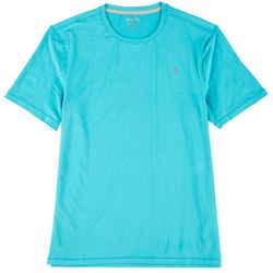 Reel Legends Mens Short Sleeve Reel-Tec Deboss T-Shirt