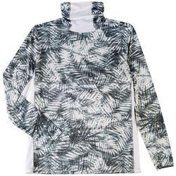 Reel Legends Mens Reel-Tec Neck Shield Palms T-Shirt