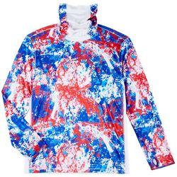 Mens Reel-Tec Neck Shield Splat T-Shirt