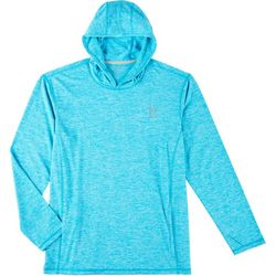 Reel Legends Mens Freeline Angler Hooded Long Sleeve