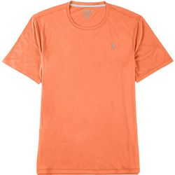 Reel Legends Mens Reel-Tec Solid Short Sleeve T-Shirt