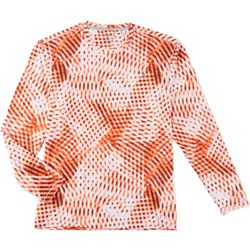 Reel Legends Mens Keep It Cool Digital Long Sleeve T-Shirt