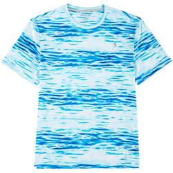 Reel Legends Mens Keep It Cool Waterlines T-Shirt