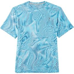 Reel Legends Mens Keep It Cool Optic Swirl T-Shirt