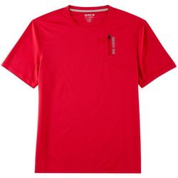 Reel Legends Mens Freeline Pocket Short Sleeve T-Shirt