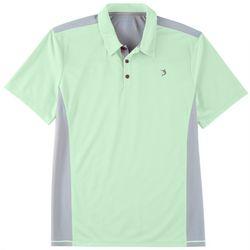 Reel Legends Mens Freeline Colorblocked Polo Shirt