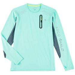 Loco Skailz Mens Crew Neck Long Sleeve T-Shirt
