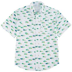 Mens Saltwater II Fish Short Sleeve Shirt