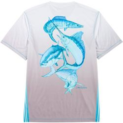 Reel Legends Mens Reel-Tec Offshore Slam T-Shirt