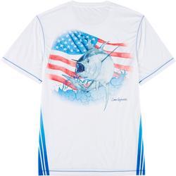 Mens Reel-Tec God Bless T-Shirt