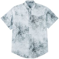 Reel Legends Mens Mariner II Chaos Short Sleeve Shirt