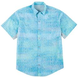 Reel Legends Mens Mariner II Tarpon Short Sleeve Shirt