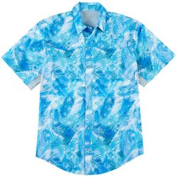 Reel Legends Mens Mariner II Reflection Short Sleeve Shirt