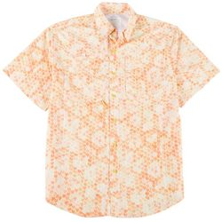 Mens Saltwater II Fishtails Short Sleeve Shirt