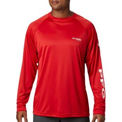 Columbia Mens PFG Terminal Tackle Raglan Long Sleeve