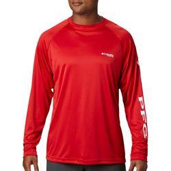 Mens PFG Terminal Tackle Raglan Long Sleeve T-Shirt