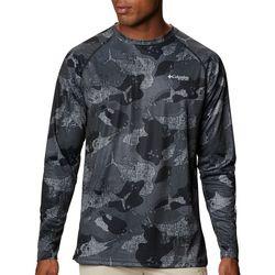 Columbia Mens PFG Super Terminal Tackle Camo Fish T-Shirt