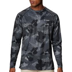 Mens PFG Super Terminal Tackle Camo Fish T-Shirt