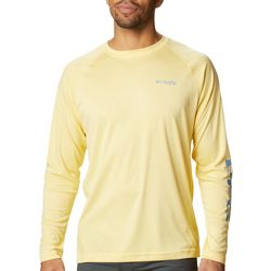 PFG Columbia Mens Terminal Tackle Heather T-Shirt