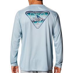 Mens Terminal Tackle Fish Fin Triangle T-Shirt