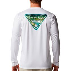 Columbia Mens Terminal Tackle Fin Triangle Solid T-Shirt