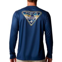Columbia Mens Terminal Tackle Fin Triangle T-Shirt