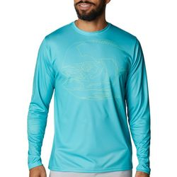 Columbia Mens Terminal Tackle Running Line Trout T-Shirt