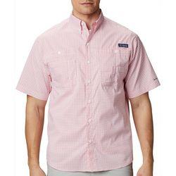 Columbia Mens PFG Super Tamiami Grid Plaid Shirt
