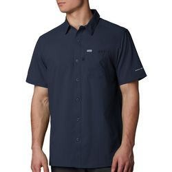 PFG Columbia Mens Slack Tide Camp Short Sleeve Shirt