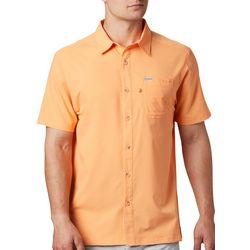 PFG Columbia Mens Slack Tide Camp Short Sleeve Shirt