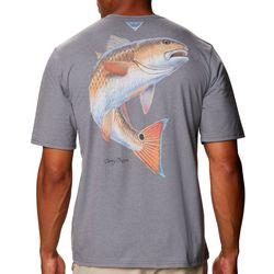 Columbia Mens Carey Chen Redfish T-Shirt
