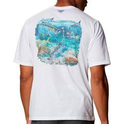 Columbia Mens Carey Chen Flats Slam T-Shirt
