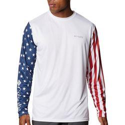Columbia Sportswear Mens Terminal Tackle Americana T-Shirt
