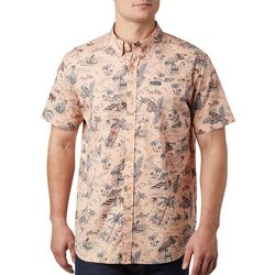 Columbia Mens Rapid Rivers Printed Short Sleeve Shirt