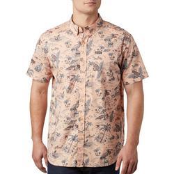 Mens Rapid Rivers Printed Short Sleeve Shirt