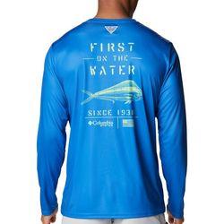 Columbia Mens Fish Ultra Long Sleeve Shirt