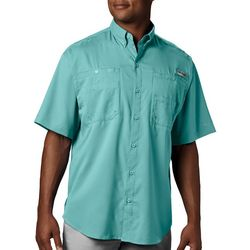 Columbia Mens Big & Tall PFG Tamiami II Solid Shirt