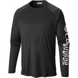 Columbia Mens Tall Terminal Tackle Crew Long Sleeve T-Shirt
