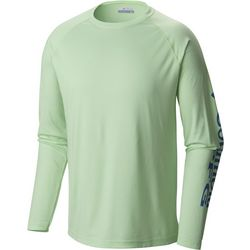 Columbia Mens Tall Terminal Tackle Crew Long Sleeve