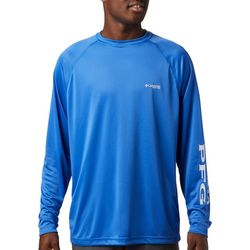 Columbia Mens Tall Terminal Tackle Logo Raglan T-Shirt