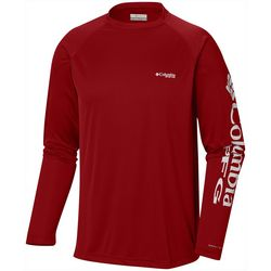 Columbia Mens Terminal Tackle Long Sleeve T-Shirt