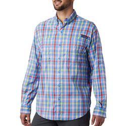Columbia Mens PFG Super Tamiami Plaid Shirt