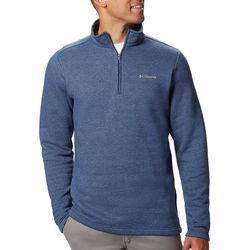 Columbia Mens Hart Mountain Zipper Placket Fleece Pullover