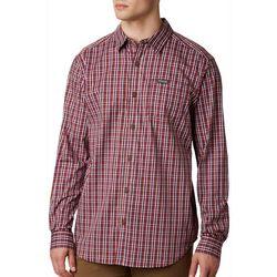 Columbia Mens Vapor Ridge Plaid Long Sleeve Shirt