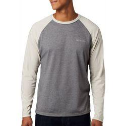 Columbia Mens Thistletown Park Raglan Long Sleeve Shirt