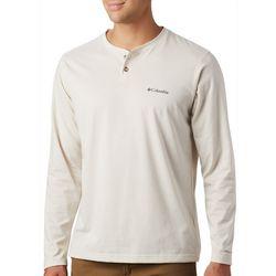 Columbia Mens Thistletown Park Henley Long Sleeve Shirt