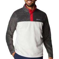 Mens Steens Mountain Half Snap Colorblock Jacket